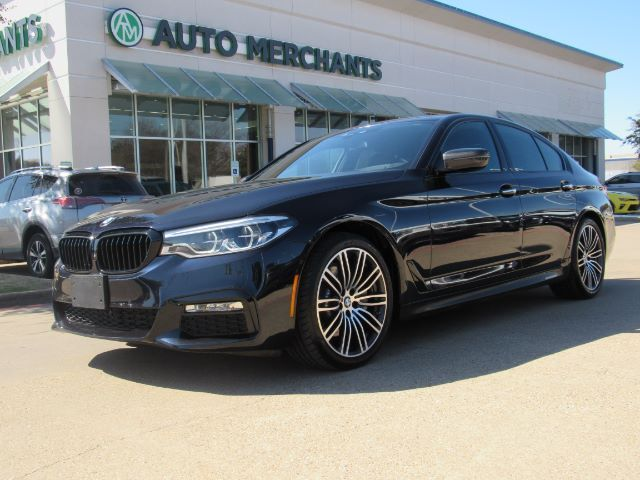 2017 BMW 5-Series TURBO 540i M SPORT PACKAGE, DRIVING ASSISTANCE PLUS, BACK-UP CAMERA, BLIND SPOT MONITOR, NAVIGATION Plano TX