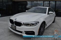 2017_BMW_530i_xDrive / AWD / M-Sport Pkg / Front & Rear Heated Leather Seats / Heated Steering Wheel / Harman Kardon Speakers / HUD / Sunroof / Navigation / Bluetooth / Back Up Camera / 33 MPG / 1-Owner_ Anchorage AK