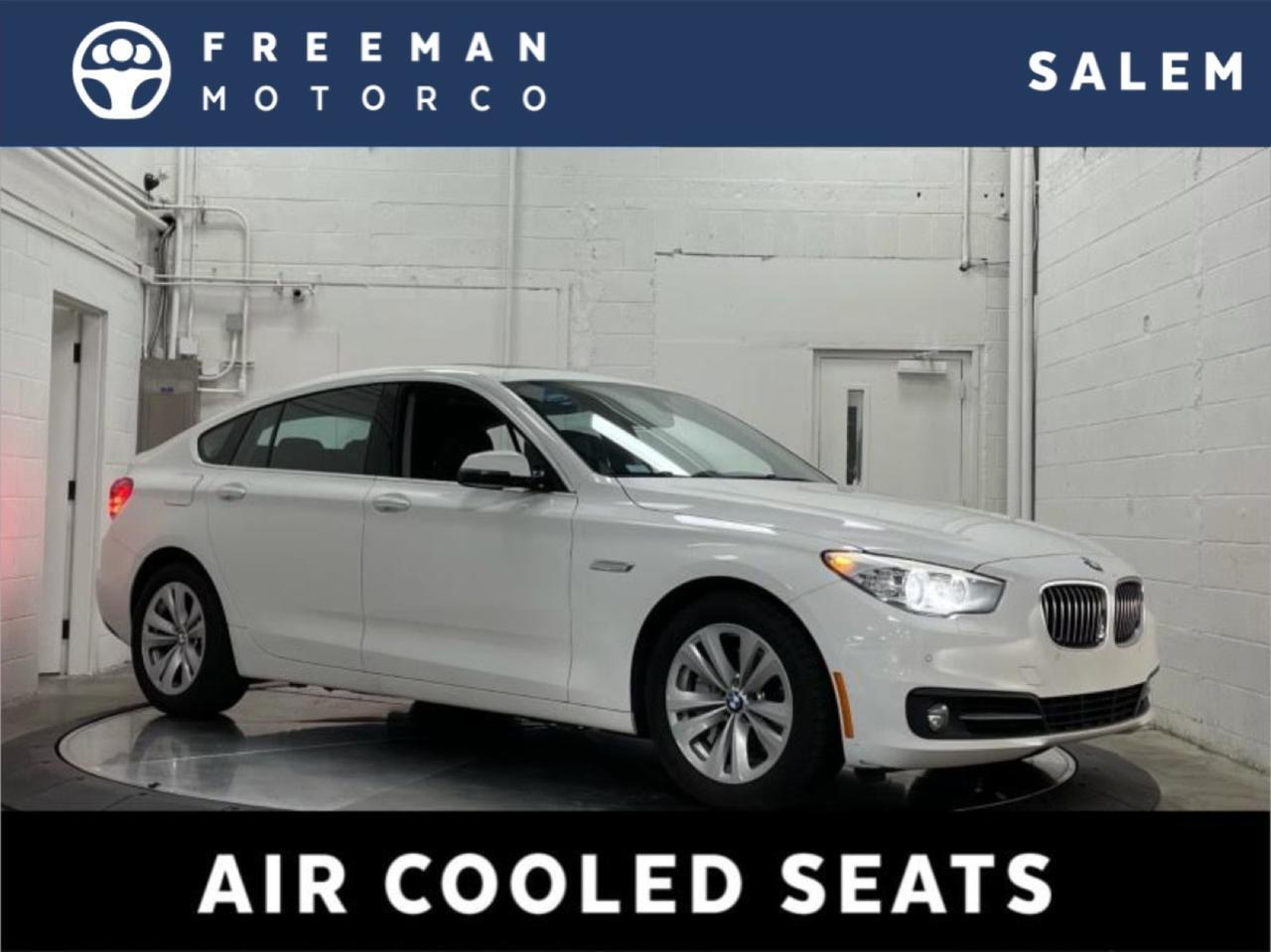 2017 BMW 535i Gran Turismo Luxury Seating Package Head-Up Display
