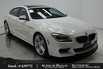 BMW 6 Series 640i Gran Coupe M SPORT EDITION,DRVR AST+,HEADS UP 2017