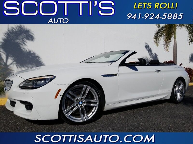 2017 BMW 6 Series 650i CONVERTIBLE~ M-SPORT PACKAGE~ 1-OWNER~ CLEAN CARFAX~ONLY 32K MILES~ MINT CONDITION~ FINANCE AVAILABLE!! Sarasota FL