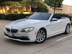 2017_BMW_640i Convertible_NAVIGATION LEATHER HEATED SEATS REAR CAMERA WITH FRONT AND REAR PARKING AID PADDLE SHIFTERS BLUETOOTH_ Addison TX