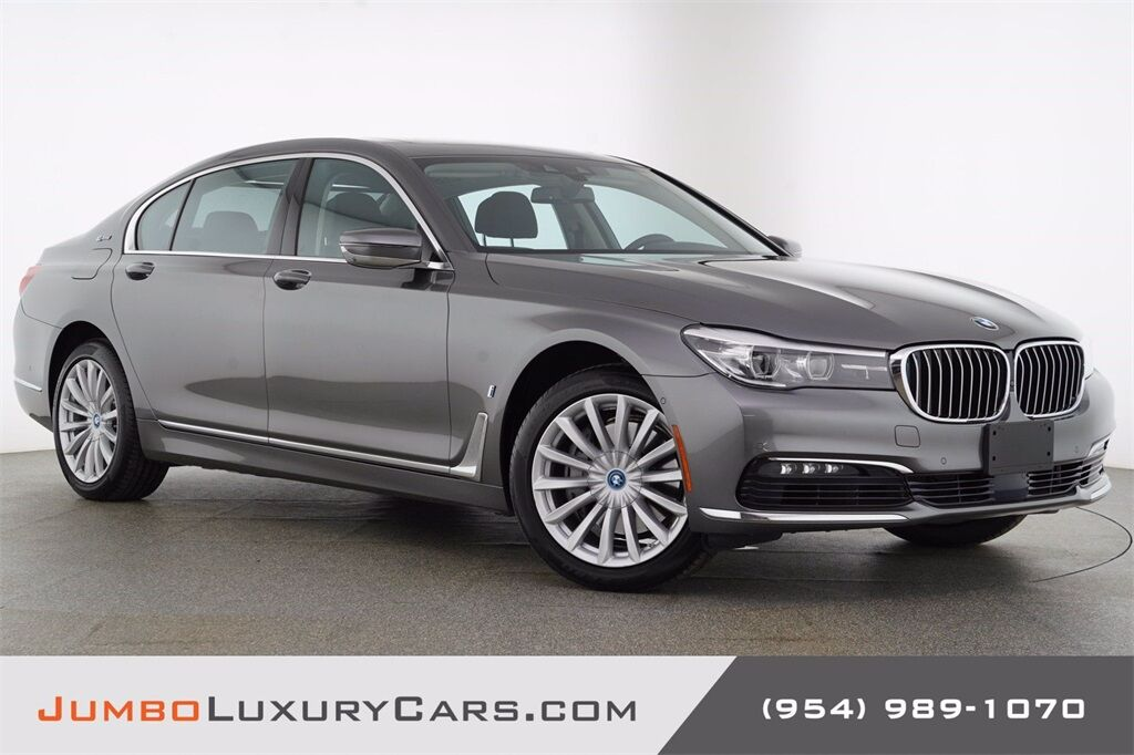 2017 BMW 7 Series 740e xDrive iPerformance Hollywood FL