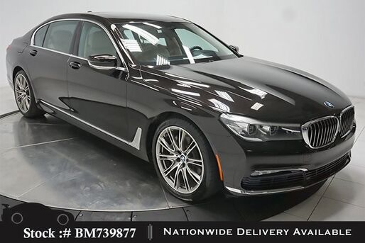 2017_BMW_7 Series_740i DRVR ASST+,EXECUTIVE,LUX REAR STS,HEADS UP_ Plano TX