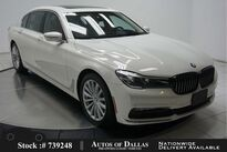 BMW 7 Series 740i EXECUTIVE,NAV,CAM,PANO,CLMT STS,HEADS UP 2017