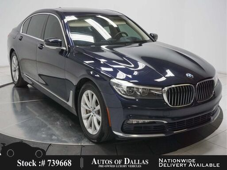 2017_BMW_7 Series_740i EXECUTIVE,NAV,CAM,PANO,CLMT STS,HEADS UP_ Plano TX