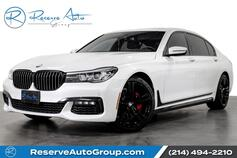 2017 BMW 7 Series 740i M-Sport 20 Alloys PanoRoof BlindSpot Monitor