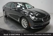 BMW 7 Series 740i NAV,CAM,PANO,HTD STS,PARK ASST,18IN WLS 2017