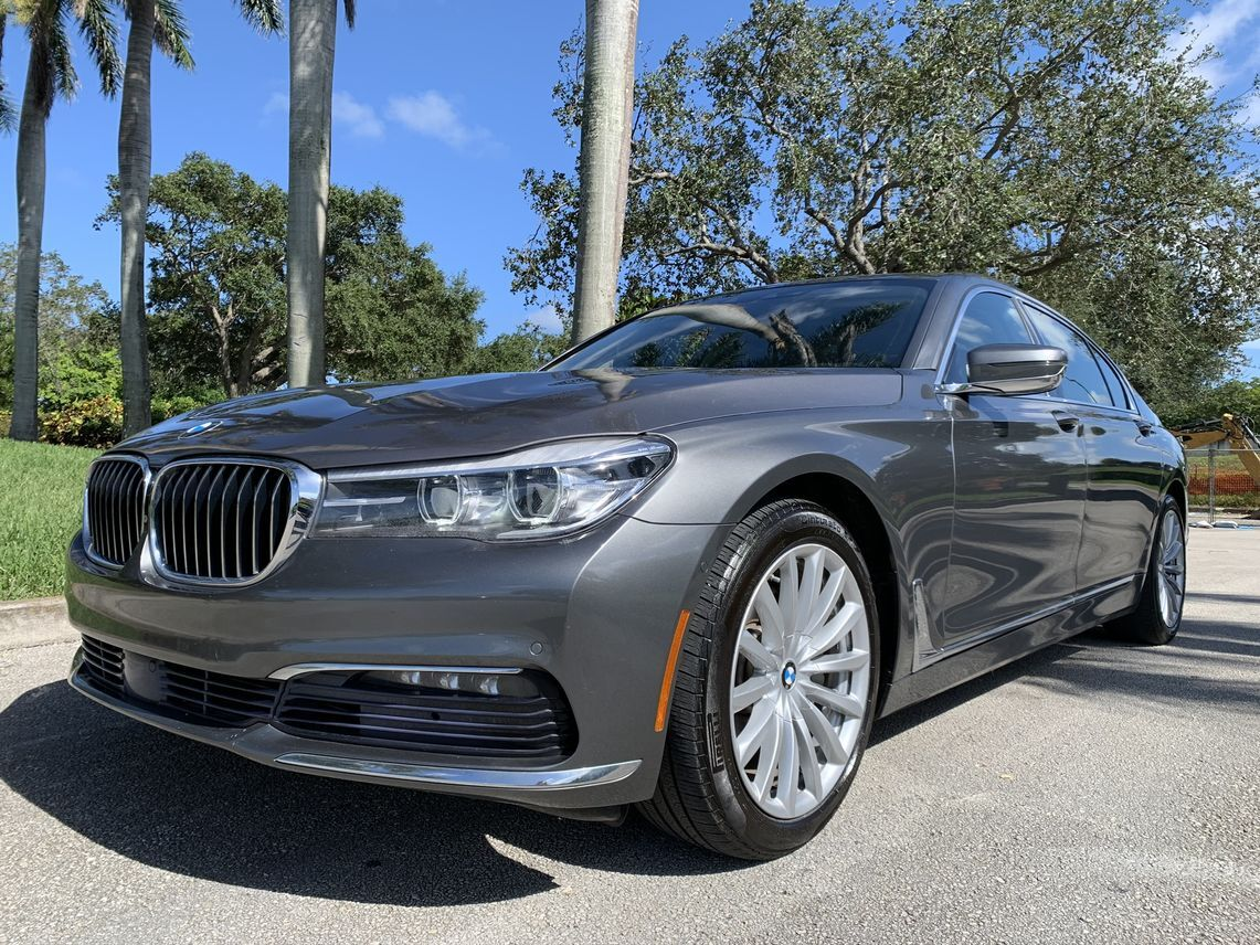 2017 BMW 7 Series 740i Sedan 4D Hollywood FL