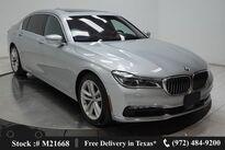 BMW 7 Series 750i DRVR ASST+,LUX STS,NAV,CAM,PANO,$118K MSRP 2017