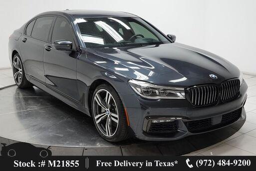 2017_BMW_7 Series_750i M SPORT,DRVR ASST+,NAV,CAM,PANO,$113K MSRP_ Plano TX