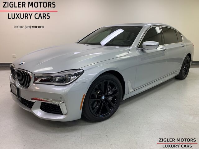 2017 BMW 7 Series 750i M Sport Package Panoramic Sky Lounge Roof Addison TX