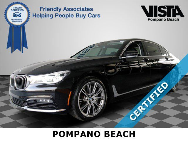 2017 BMW 7 Series 750i Pompano Beach FL