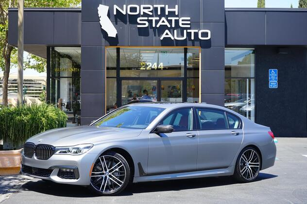 2017_BMW_7 Series_750i_ Walnut Creek CA