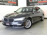 BMW 740i CONVENIENCE PKG COLD WEATHER PKG NAVIGATION DUAL MOONROOF LEATHER 2017