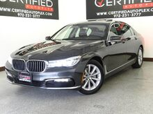 2017_BMW_740i_CONVENIENCE PKG COLD WEATHER PKG NAVIGATION DUAL MOONROOF LEATHER_ Carrollton TX