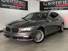 2017_BMW_740i_XDRIVE DRIVE ASSIST PLUS PKG EXECUTIVE PKG NAVIGATION PANORAMIC ROOF TOP VI_ Carrollton TX
