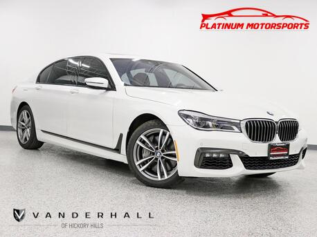 2017_BMW_750I xDrive_2 Owner M Sport Pkg Executive Pkg Driver Assist Plus Pkg Fully Loaded Carfax Certified_ Hickory Hills IL