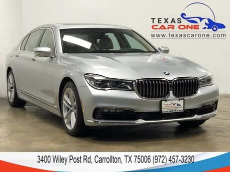 2017 BMW 750i DRIVER ASSIST PKG DRIVER ASSIST PLUS PKG NAVIGATION HEADUP DISPL Carrollton TX