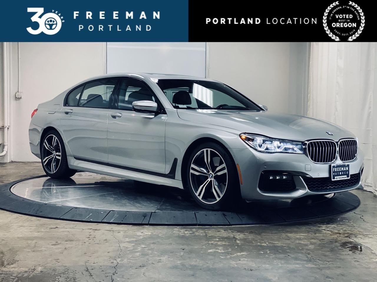 2017 BMW 750i M Sport Driving Assistance Pkg Remote Controlled Parking Portland OR