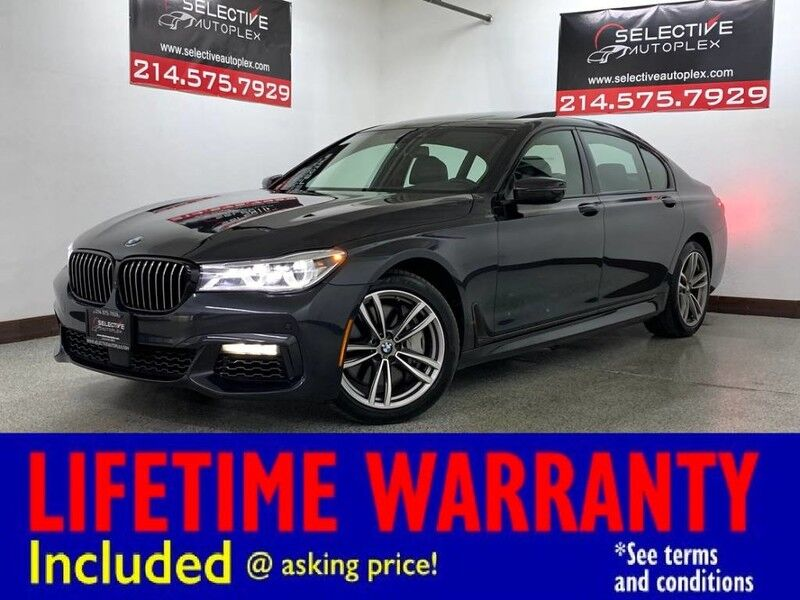 2017 BMW 750i xDrive AWD, NAV, EXECUTIVE PKG, DRIVING ASSISTANCE PLUS Carrollton TX