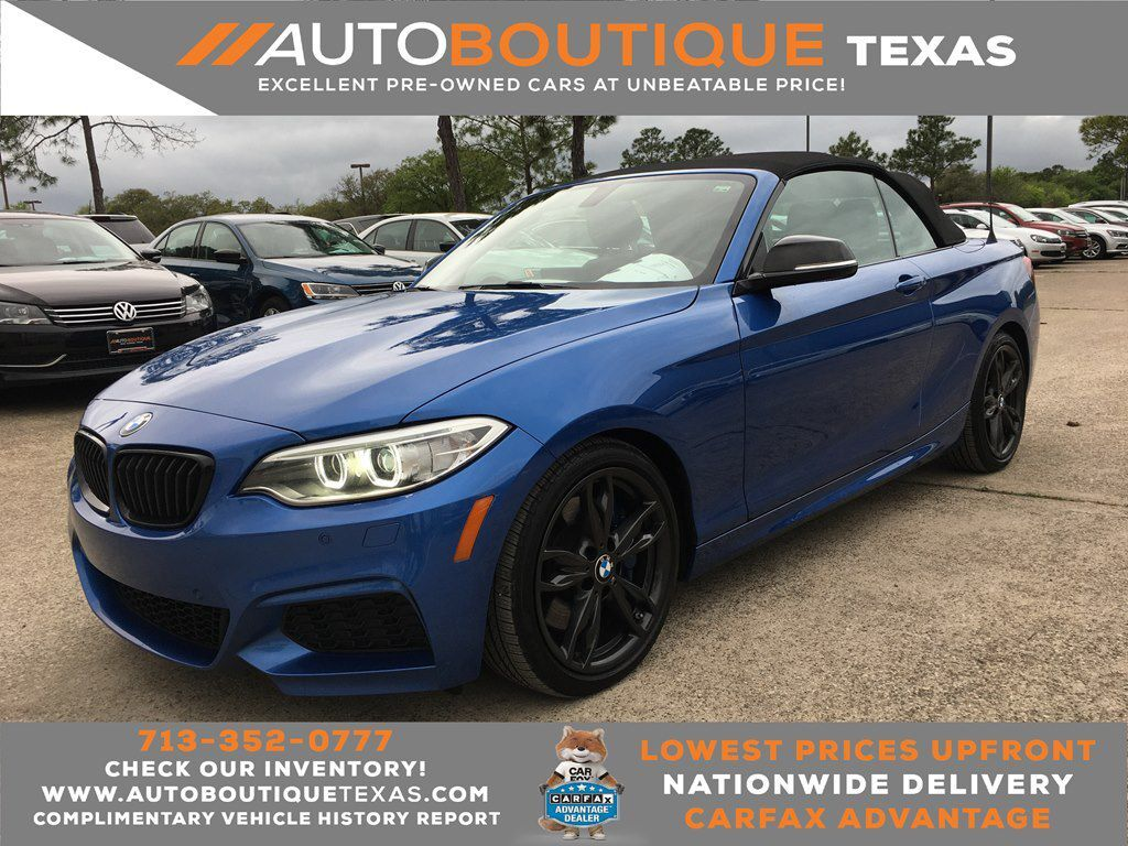 2017 BMW M240XI Houston TX