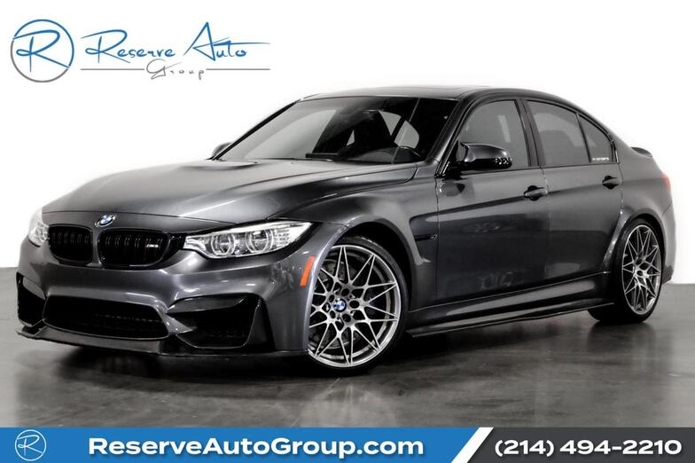 2017 BMW M3 Competition Pkg Moonroof CarbonFiber BodyKit The Colony TX