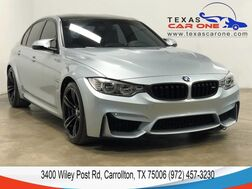 2017_BMW_M3_LIGHTING PACKAGE NAVIGATION HARMAN KARDON SOUND LEATHER HEATED SEATS KEYLESS START_ Carrollton TX