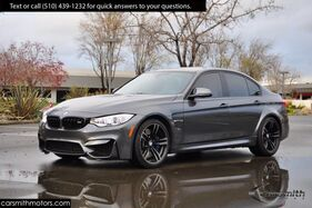 2017_BMW_M3 in RARE 6 SPEED VERSION! MSRP $74,175_Silverstone Merino Leather/Executive and Lighting Pkg_ Fremont CA