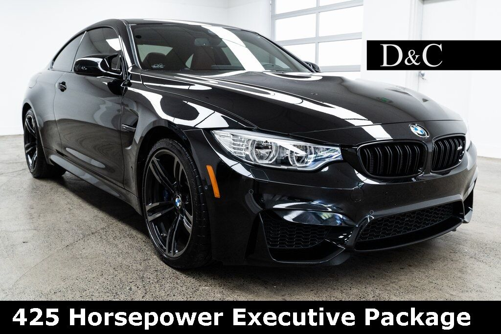 2017 BMW M4 425 Horsepower Executive Package Portland OR