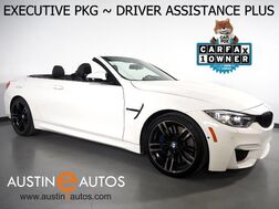 2017_BMW_M4 Convertible_*M DOUBLE CLUTCH, EXECUTIVE PKG, DRIVER ASSISTANCE PLUS, HEADS-UP DISPLAY, BLIND SPOT ALERT, DRIVING ASSISTANT, NAVIGATION, TOP/SIDE/REAR CAMERAS, HARMAN/KARDON, MERINO LEATHER, HEATED SEATS/STEERING WHEEL_ Round Rock TX