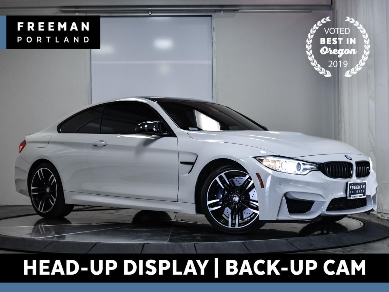 2017 BMW M4 Head-Up Display Back-Up Cam Heated Seats Nav Portland OR