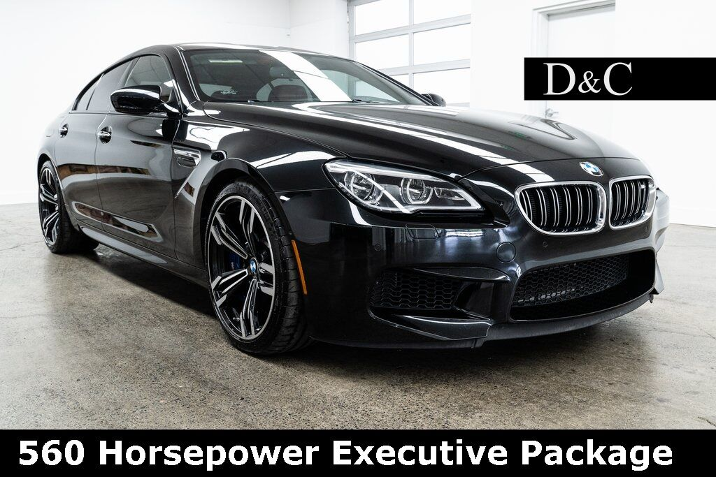 2017 BMW M6 560 Horsepower Executive Package Portland OR
