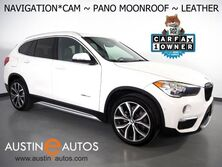 BMW X1 sDrive28i *XLINE, NAVIGATION, BACKUP-CAMERA, PANORAMA MOONROOF, DAKOTA LEATHER, SPORT HEATED SEATS, HEATED STEERING WHEEL, 19 INCH WHEELS, BLUETOOTH 2017