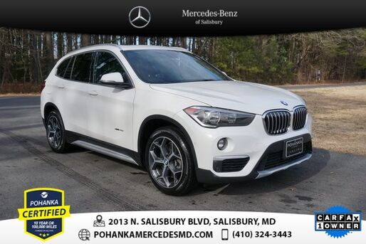 2017_BMW_X1_xDrive28i ** Pohanka Certified 10 year / 100,000 **_ Salisbury MD