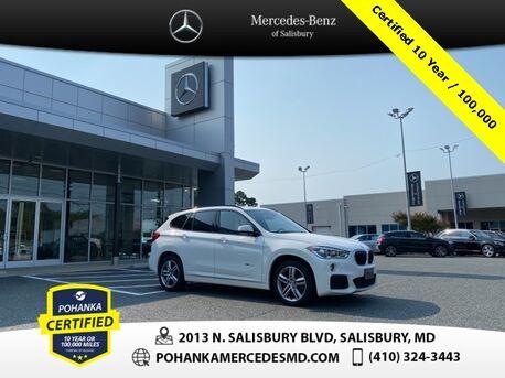 2017_BMW_X1_xDrive28i ** Pohanka Certified 10 year / 100,000 **_ Salisbury MD
