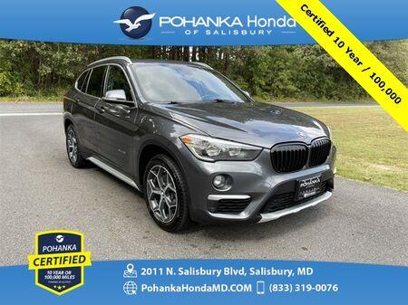 2017_BMW_X1_xDrive28i AWD ** Pohanka Certified 10 Year / 100,000 **_ Salisbury MD