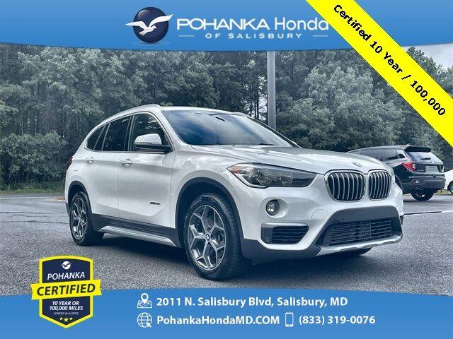 2017 BMW X1 xDrive28i AWD ** Pohanka Certified 10 Year / 100,000  ** Salisbury MD