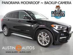 2017_BMW_X1 xDrive28i AWD_*LUXURY PKG, PANORAMA MOONROOF, BACKUP-CAMERA, PARKING ASSISTANT, DAKOTA LEATHER, HEATED SEATS & STEERING WHEEL, BLUETOOTH PHONE & AUDIO_ Round Rock TX