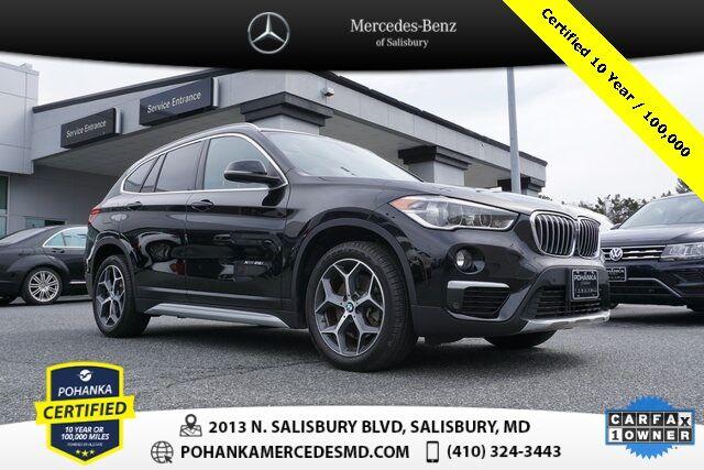 2017 BMW X1 xDrive28i AWD/NAVI/SUNROOF ** Pohanka Certified 10 year / 10 Salisbury MD