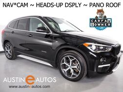 2017_BMW_X1 xDrive28i AWD_*XLINE, HEADS-UP DISPLAY, NAVIGATION, BACKUP-CAMERA, PANORAMA MOONROOF, HEATED SEATS/STEERING WHEEL, COMFORT ACCESS, BLUETOOTH_ Round Rock TX