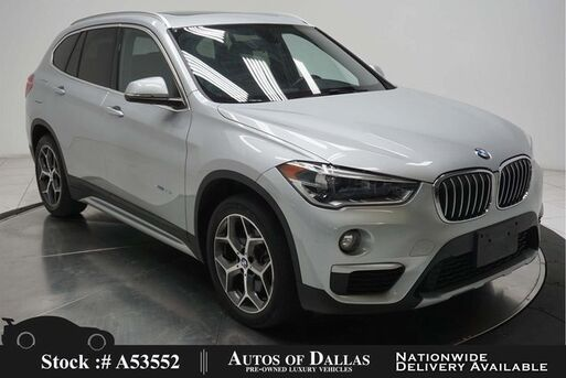 2017_BMW_X1_xDrive28i X LINE,PANO,HTD STS,18IN WLS,LED LIGHTS_ Plano TX