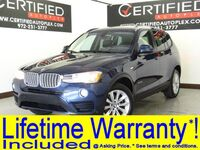 BMW X3 SDRIVE28i NAVIGATION REAR CAMERA PANORAMIC ROOF PARK ASSIST LEATHER SEATS D 2017