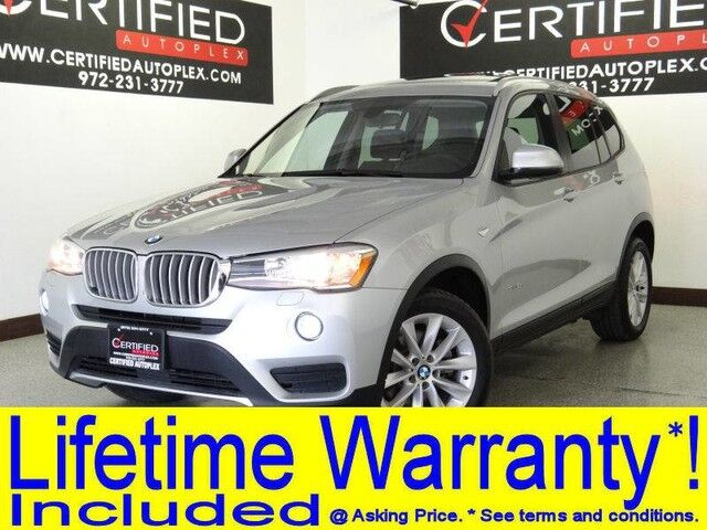 2017 Bmw X3 Sdrive28i Navigation Panoramic Roof Power Leather Seats Bluetooth Keyless E Carrollton Tx