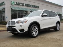 2017_BMW_X3_sDrive28i 2.0 4CYL TURBO, AUTOMATIC, LEATHERETTE, PANORAMIC, POWER LIFTGATE, SUNROOF, POWER SEATS_ Plano TX