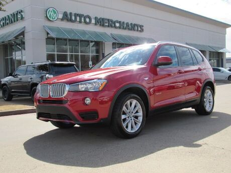 2017 BMW X3 sDrive28i ****LUXURY VIP PACKAGE****   5.0L 8CYL AUTOMATIC, LEATHER SEATS, NAVIGATION SYSTEM Plano TX