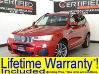 BMW X3 sDrive28i M SPORT PKG DRIVER ASSISTANCE PKG PREMIUM PKG NAVIGATION PANORAMA LEATHER 2017