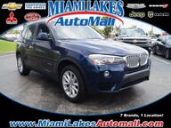 2017 BMW X3 sDrive28i Miami Lakes FL