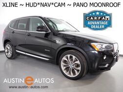 2017_BMW_X3 sDrive28i_*XLINE, HEADS-UP DISPLAY, NAVIGATION, BACKUP-CAMERA, PANORAMA MOONROOF, LEATHER, HARMAN/KARDON, BLUETOOTH PHONE & AUDIO_ Round Rock TX