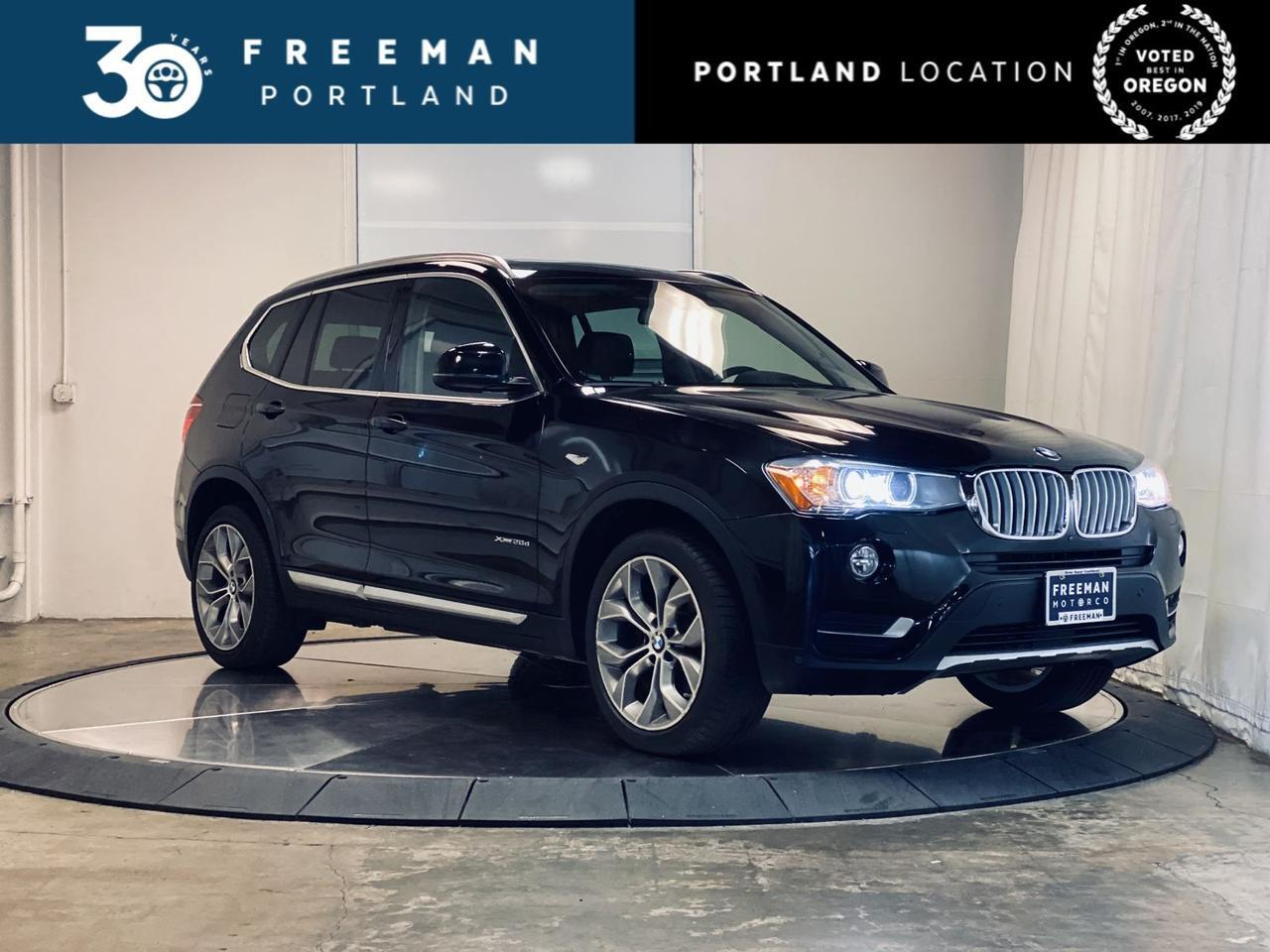 2017 BMW X3 xDrive28d Surround Cam Blind Spot Detection Apple CarPlay Portland OR